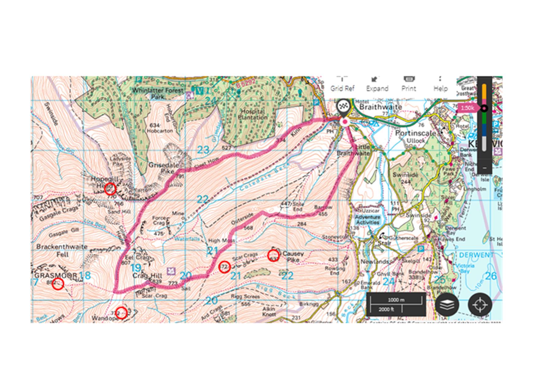 Adventure Trails Coledale Horshoe